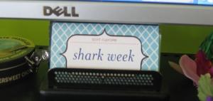 SHARK WEEK Card!