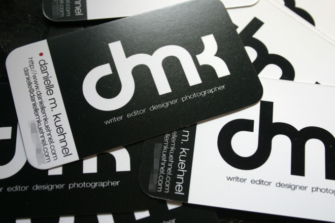 My new business cards!