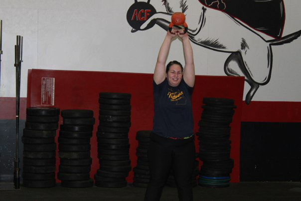 Killing some kettlebells!