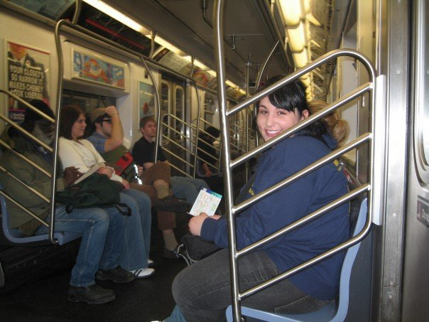 Remember that time back in, like, 2007 when we rode the subway?