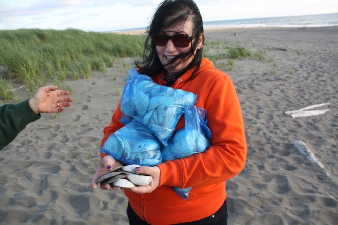 At Ocean Shores, June 2011