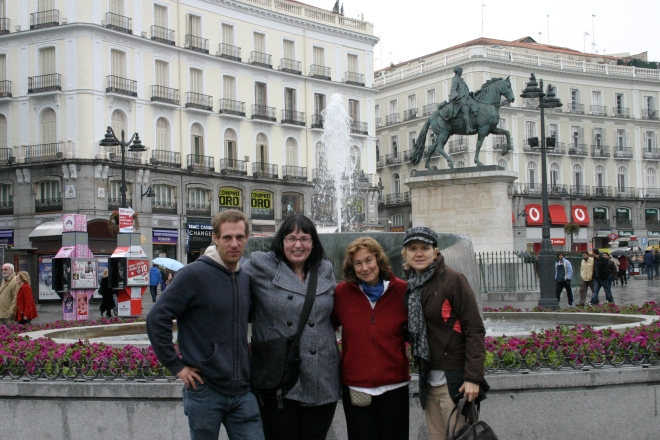 In Madrid, November 2010.