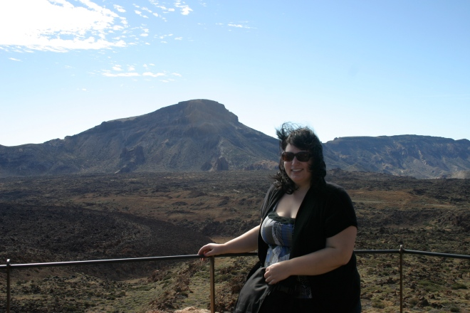 On Mount Teide, Tenerife, Canary Islands, November 2010.