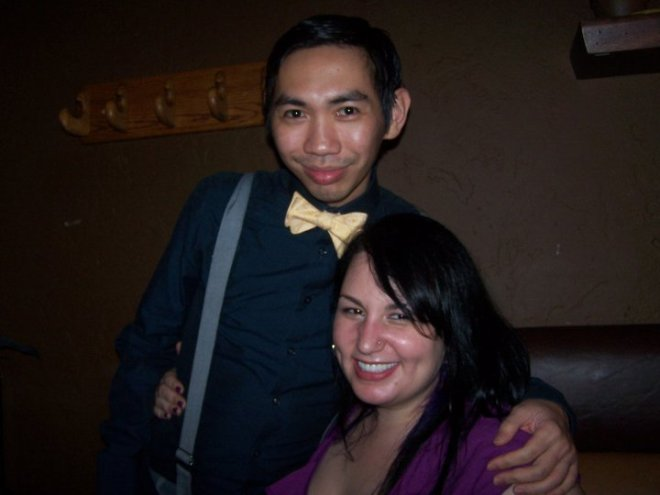 My darling Ron and me, June 2011