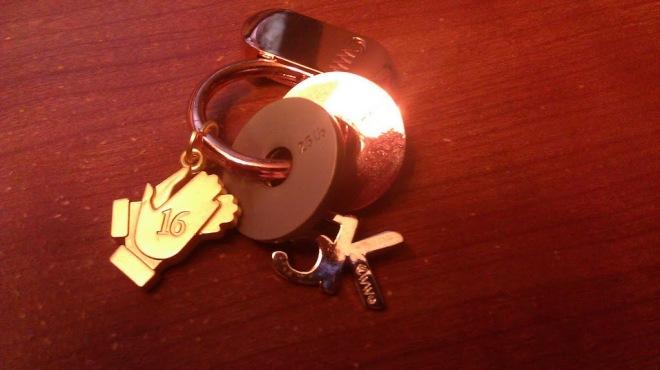 My current WW keychain.