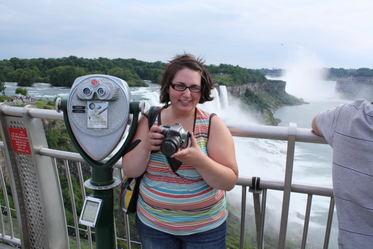 Summer 2009, at Niagara Falls.