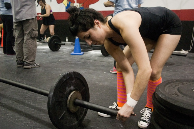Carissa packin' on the weight for some continental C+Js.