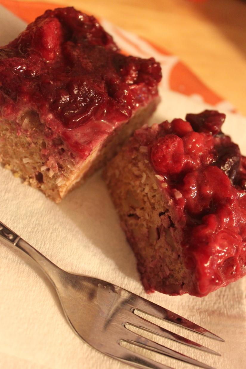 Mmm...quinoa berry bars!
