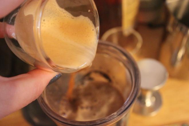 Silky, delicious espresso.