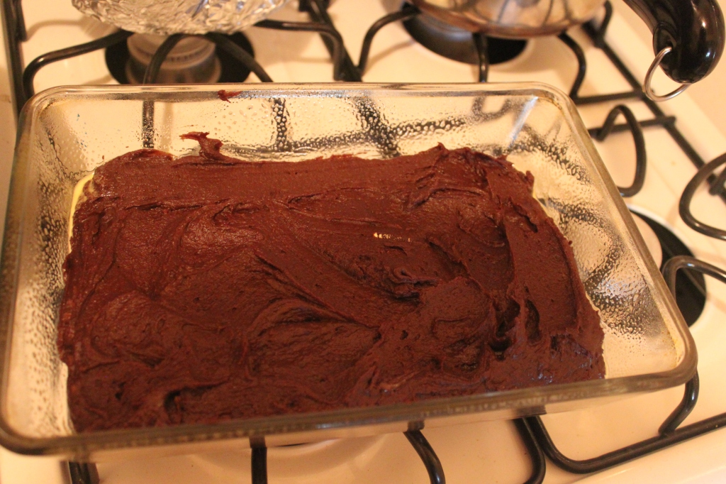 Brownie batter!
