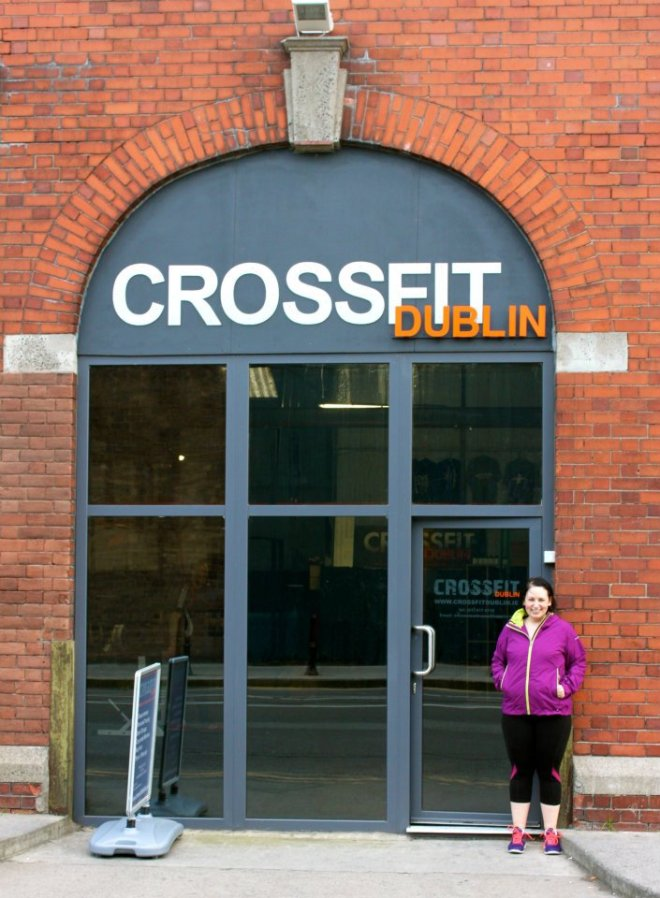 At Crossfit Dublin!