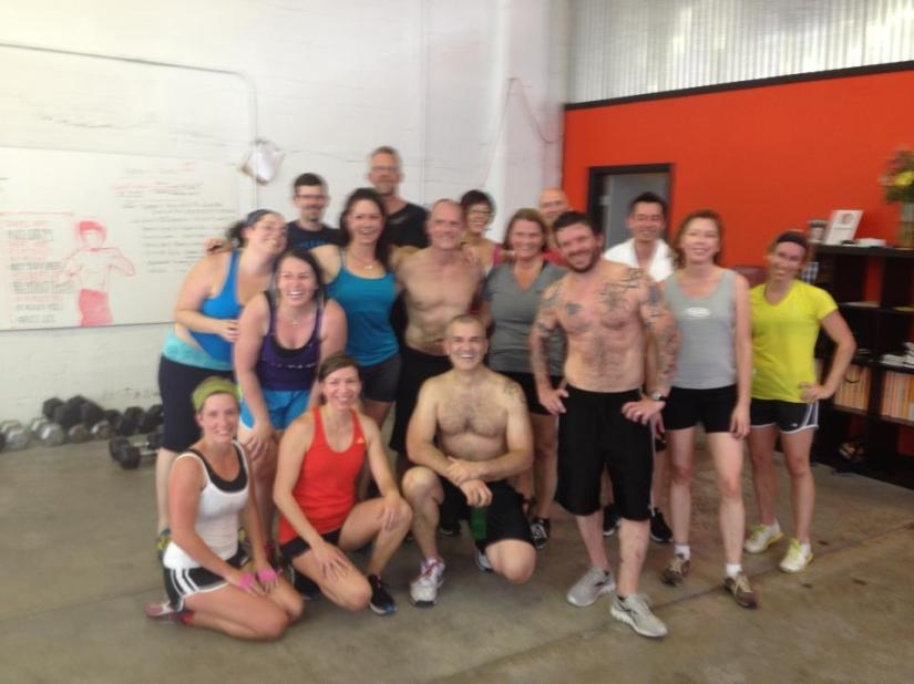 The traveling Crossfitter, or, when you decide to Crossfit whileaway