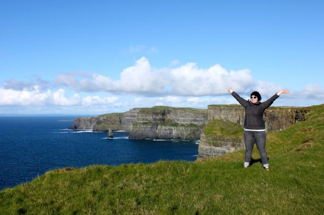 Atop the Cliffs of Moher