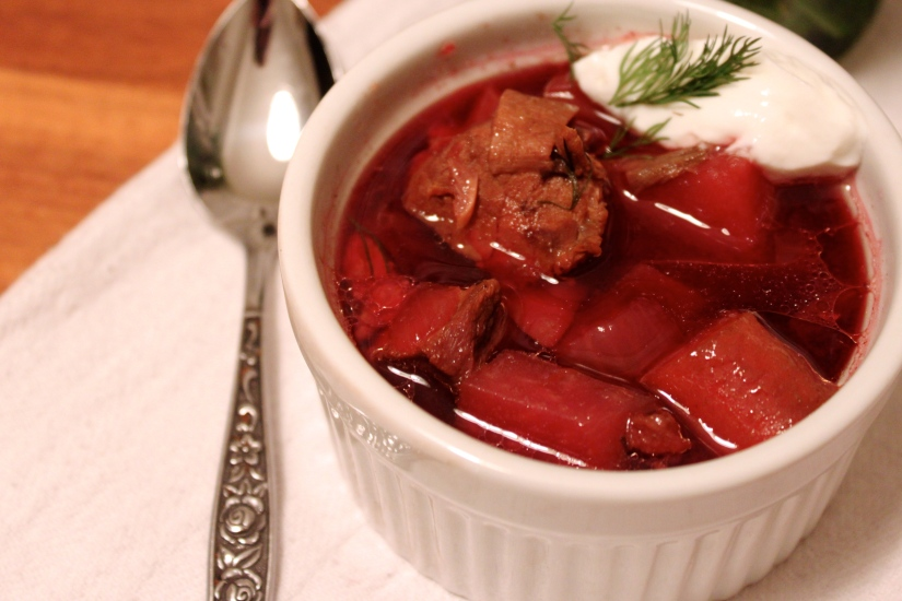 Got beets? I've got slow-cooker borscht!